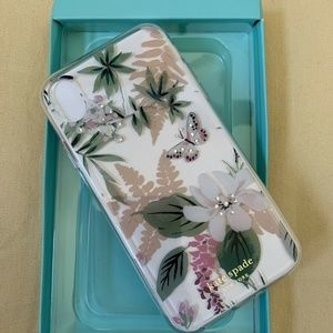 NWT KATE SPADE Jeweled Botanical iPhone XR Case